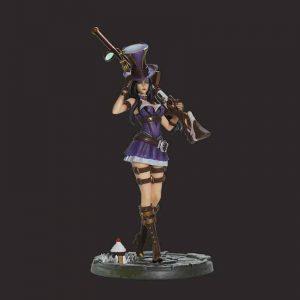 game figures statue