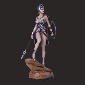 Custom film action figure Resin Statue